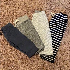 Bundle of 3-6 month boys pants